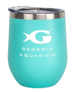 Georgia Aquarium Wine Tumbler