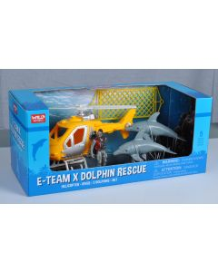 E Team Dolphin Rescue Toy