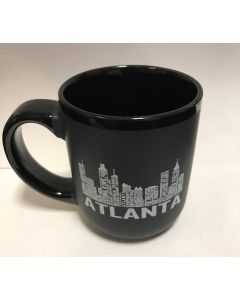 Atlanta Type Skyline Mug