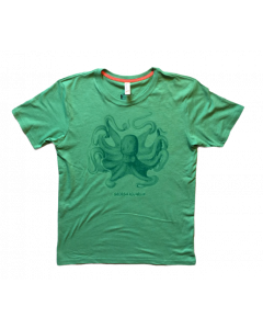 Youth Recycled Bottle 'Octopus' Short Sleeve Tee