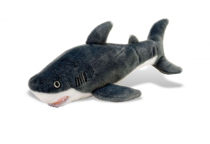 Plush Mini Great White Shark Georgia Aquarium Gift Shop